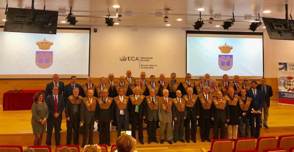 La Escuela Superior de Ingeniería celebra el 50º aniversario de sus egresados