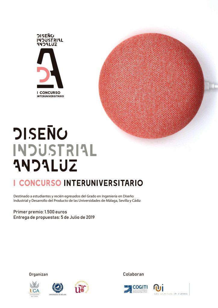 I Concurso Interuniversitario de Diseño Industrial Andaluz.