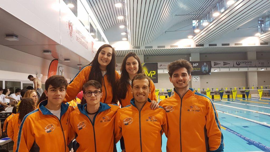 Éxito de estudiantes de la ESI en los Campeonatos de Andalucía Universitarios de natación
