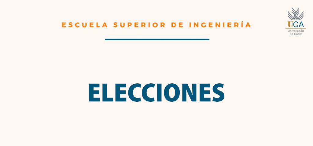 [Elecciones] Director de Departamento de Ingeniería Mecánica y Diseño Industrial