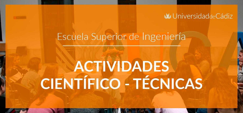 Actividades Científico-Ténicas del 11 al 15 de noviembre de 2019