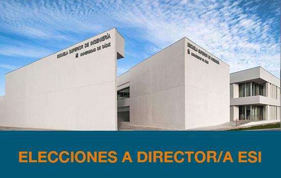 IMG ELECCIONES A DIRECTOR/A DE LA ESI