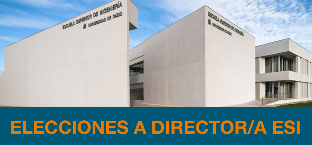 ELECCIONES A DIRECTOR/A DE LA ESI